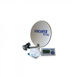 ANTENNA SATELLITARE AUTOMATICA CON GPS TUNER INTEGRATI M7 T-SAT